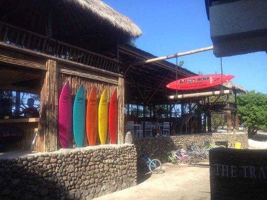 The Trawangan Resort: Near the restaurant