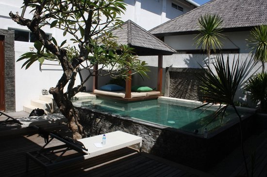 The Trawangan Resort: Our pool, private villa
