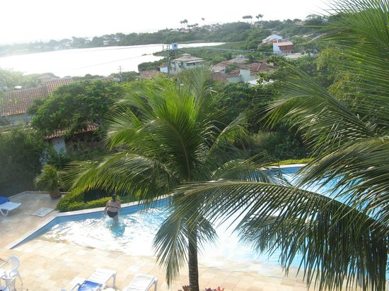 Bon Bini Pousada: The marevelous view from room