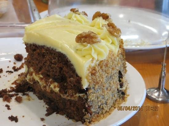 Seagars Cooking School and Cafe : Best ever carrot cake