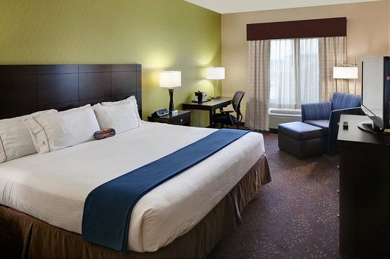 Holiday Inn Express & Suites Saginaw : King Standard Room