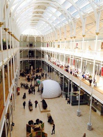 Museo Nacional de Escocia: Sala de ciencia y tecnología