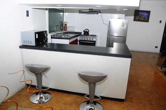 ValpoGo Accommodation: cocina americana