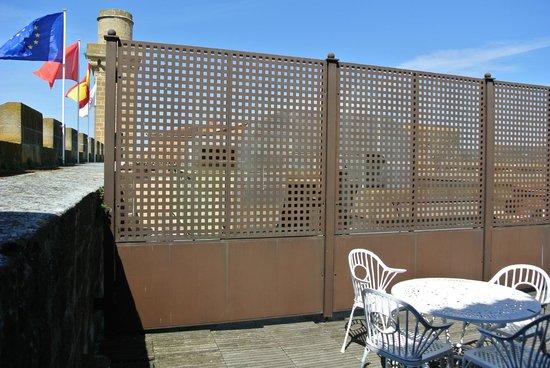 Parador de Olite : Terraza