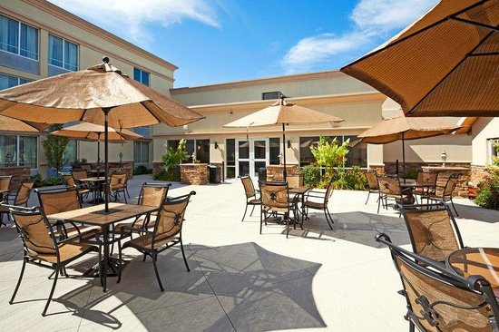 Holiday Inn Hotel & Suites Rochester - Marketplace: Our inviting courtyard is fitting for all.
