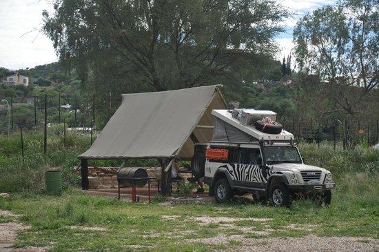 UrbanCamp.net - Camping, Leisure, Windhoek: camping pitch