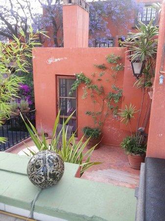 Casa Schuck Boutique Hotel: La Rosa patio