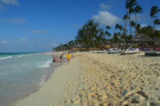 Paradisus Punta Cana Resort : The beach