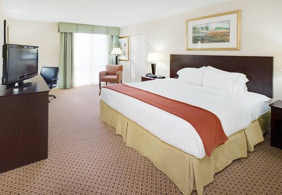 Holiday Inn Express Springfield: King Bed in Springfield, IL