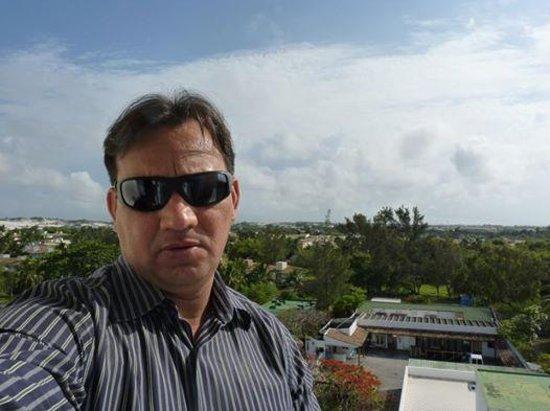 Hotel Deville Prime Salvador: Vista da sacada do apartamento que fiquei