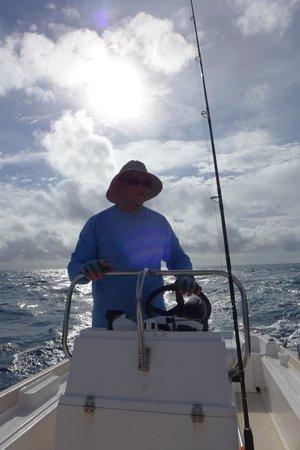 Bora Bora Fishing Paradise Lodge : Monsieur Porcheron