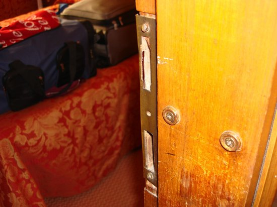 Hotel Lisbona : Unsafe lock