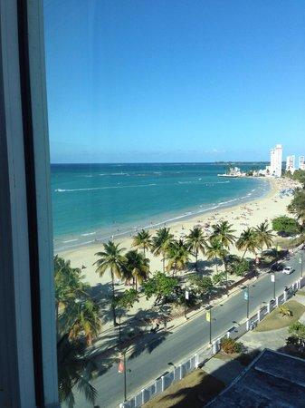 San Juan Water & Beach Club Hotel : View from room 1008...