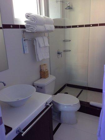 San Juan Water & Beach Club Hotel : Bathroom 1008..
