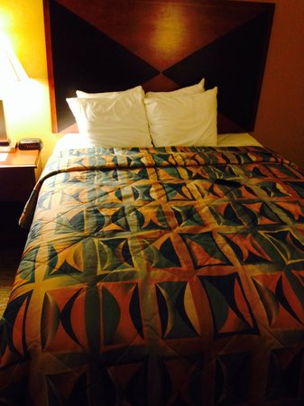 Sleep Inn & Suites: Queen bed