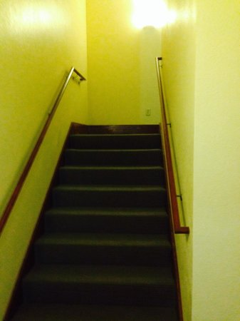 Sleep Inn & Suites: Stairwell