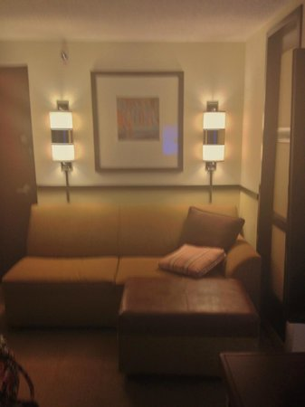 Hyatt Place Auburn Hills : sectional sofa sleeper