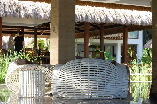 The Ananyana Beach Resort & Spa: terrace