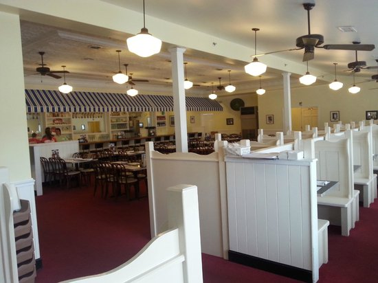 Dumser's Dairyland Drive-In - 49th Street: Decor is retro & very cheery