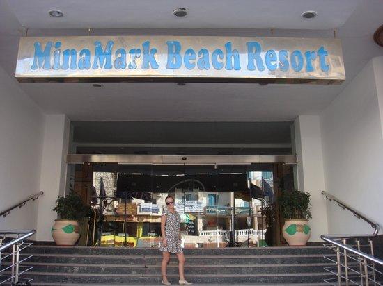 MinaMark Beach Resort: на ресепшене
