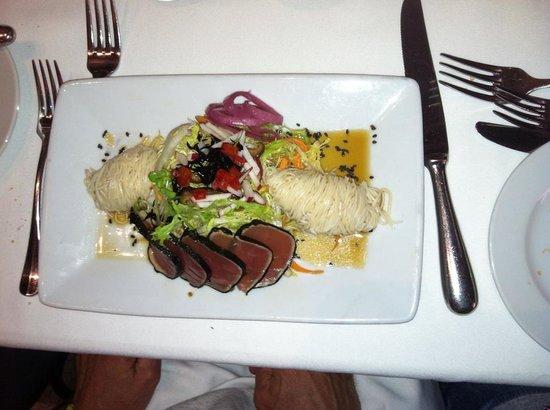 Tribeca Grill: tuna appetizer