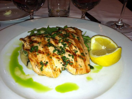 Tribeca Grill: superb salmon