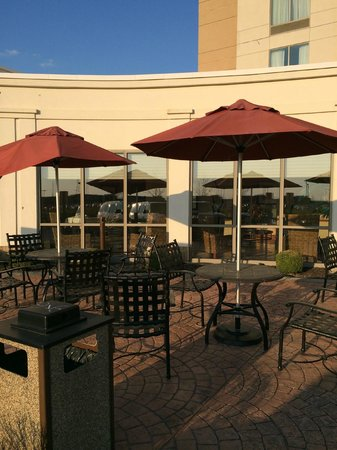 Hilton Garden Inn Indianapolis South/Greenwood: patio area