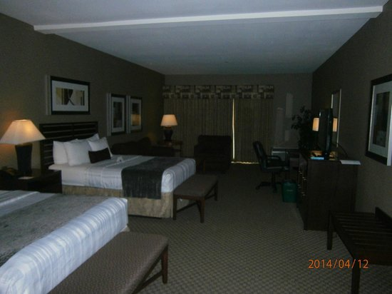 Best Western Plus Bayside Hotel: Our room