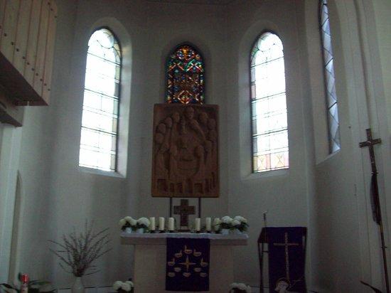 Hotel Burg Colmberg: capilla interna