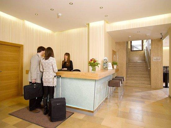 Hotel Drei Raben: Reception
