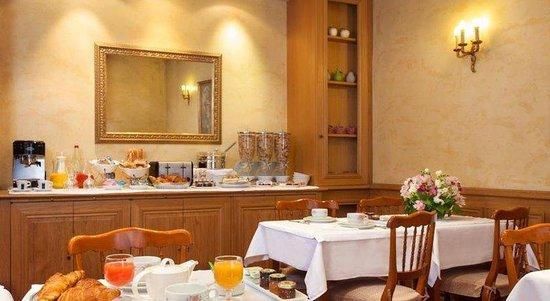 Hotel de Sevigne : Restaurant