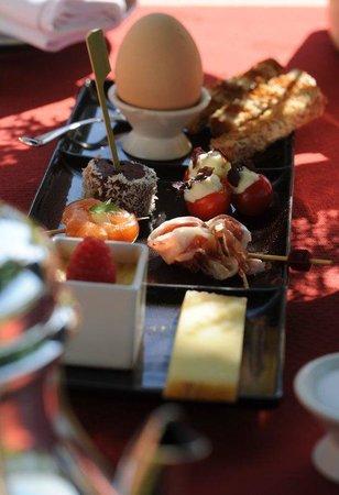 La Côte Saint Jacques : Breakfast