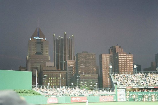 View from left field PNC Park