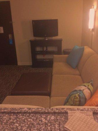 HYATT house Chicago/Naperville/Warrenville: living area