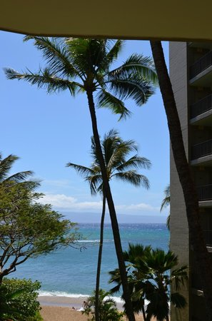 Valley Isle Resort: View from the lanai