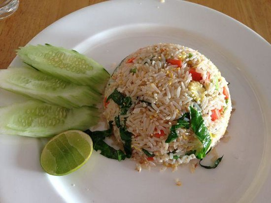 FIZZ beachlounge: Fried rice!