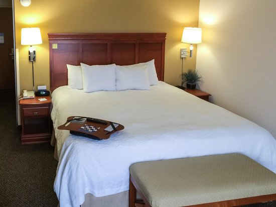 Hampton Inn & Suites Richmond: King Bed