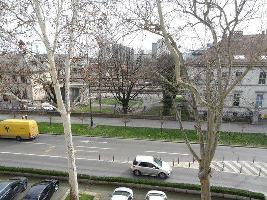 Esplanade Zagreb Hotel : View from room