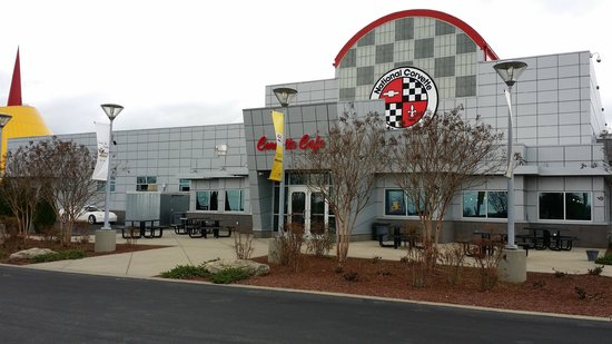 National Corvette Museum: Diner entrance