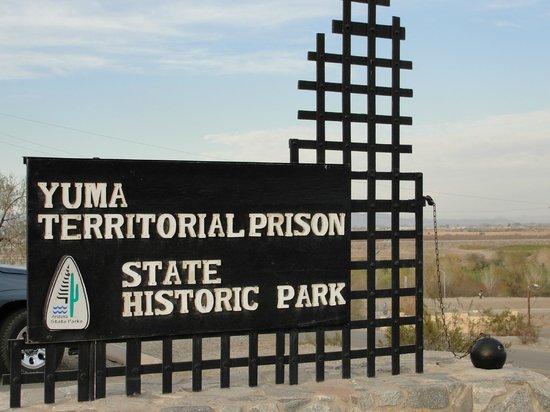 Yuma Territorial Prison State Historic Park : Park Entrance
