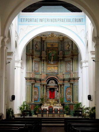 Cathedral at Old Panama: Catedral em Casco Antiguo