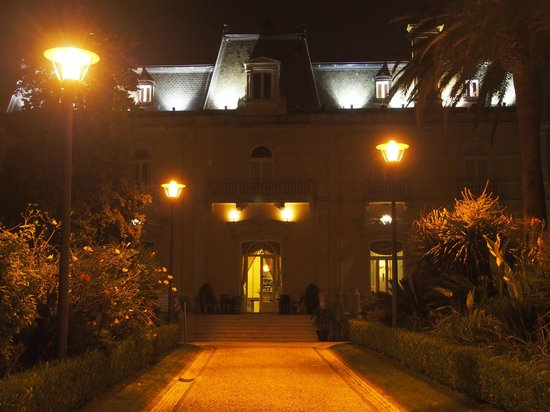 Pestana Palace Lisboa : Fachada do Hotel virada para o jardim