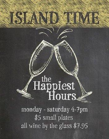 "Upper Crust Deli Bistro: The best ""Happiest Hours"" deal on island. Period."