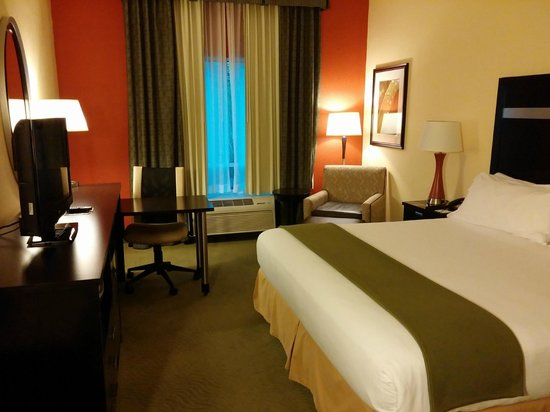 Holiday Inn Express Greenville I-85 and Woodruff Road : Room