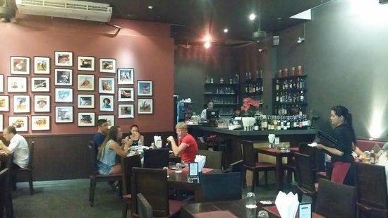 Churrasco Phuket Steakhouse : Inside the restaurant