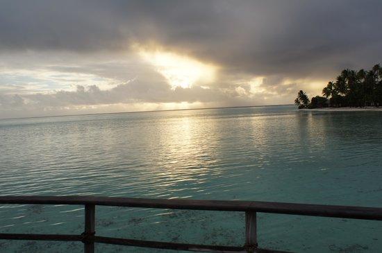 Le Taha'a Island Resort & Spa: Awsome view!!!