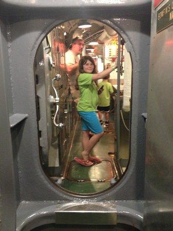 USS Bowfin Submarine Museum & Park: Inside Bowfin