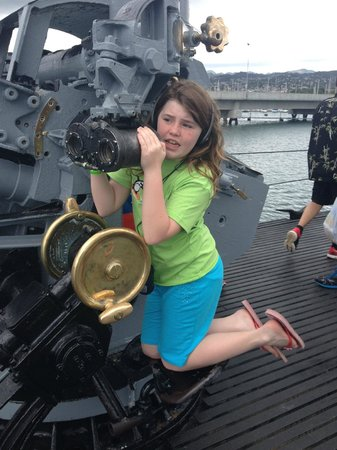 USS Bowfin Submarine Museum & Park: I can see the Arizona