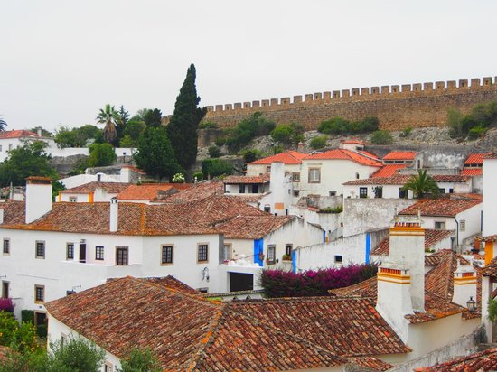 Pousada do Castelo de Obidos : Vista do quarto da Pousada