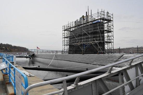 The Submarine Force Museum: USS Nautilus